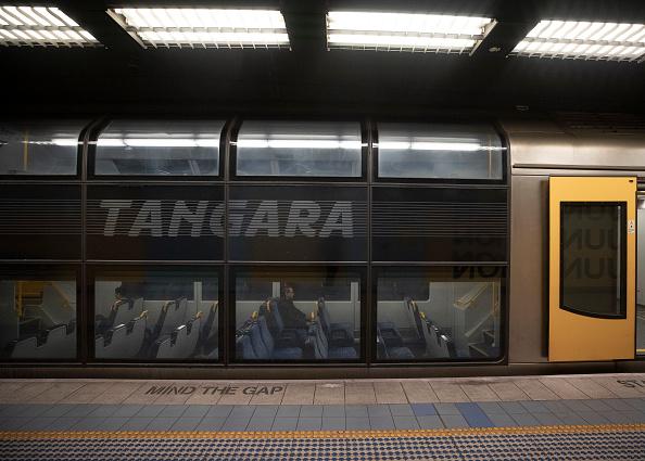 Railroad Car「Sydney Public Transport Introduces Strict Social Distancing Measures As Coronavirus Restrictions Ease」:写真・画像(9)[壁紙.com]