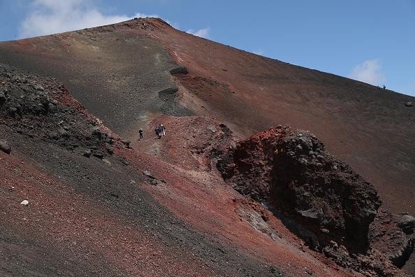 Active Volcano「Travel Destination: The Simmering Volcano Of Mount Etna」:写真・画像(16)[壁紙.com]