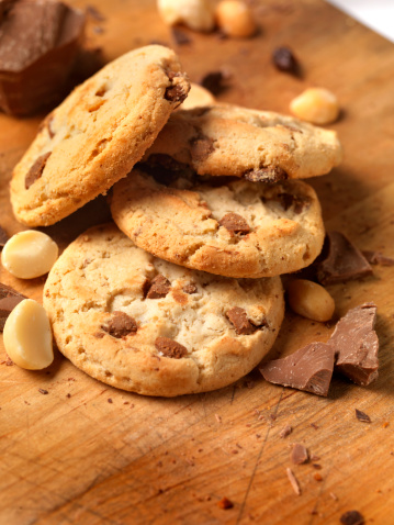 Milk Chocolate「Chocolate,Macadamia nut Cookies」:スマホ壁紙(11)