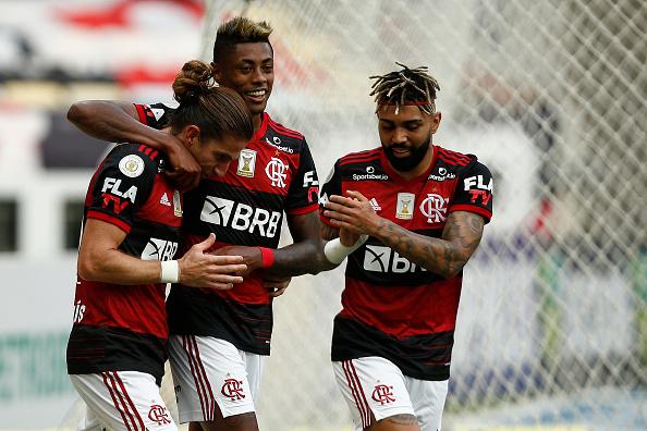 Wagner Meier「2020 Brasileirao Series A: Flamengo v Santos Play Behind Closed Doors Amidst the Coronavirus (COVID-19) Pandemic」:写真・画像(2)[壁紙.com]