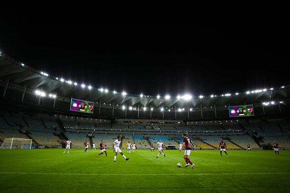 Maracanã Stadium「Flamengo v Bangu - Carioca State Championship」:写真・画像(2)[壁紙.com]