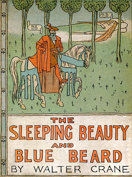 The Sleeping Beauty and Blue Beard by Walter Crane:ニュース(壁紙.com)