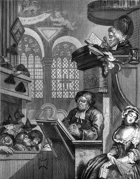 Congregation「The sleeping congregation by William Hogarth」:写真・画像(19)[壁紙.com]