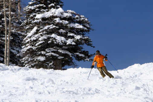 スキー「スキー場」:スマホ壁紙(4)