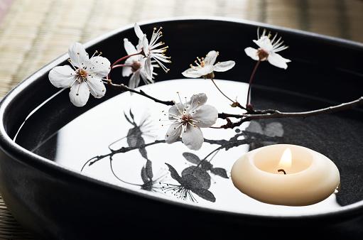 桜「「禅スパ」のテーブルセッティング」:スマホ壁紙(17)