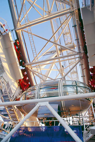 Amusement Park Ride「London Eye, United Kingdom. Designed by David Marks and Julia Barfield.」:写真・画像(4)[壁紙.com]
