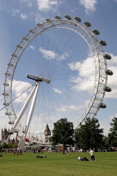 Amusement Park Ride「London Eye (Millennium Wheel). London, United Kingdom. Designed by David Marks and Julia Barfield.」:写真・画像(2)[壁紙.com]