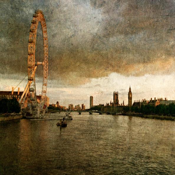 Amusement Park Ride「London Eye and Westminster on River Thames, London, UK」:写真・画像(14)[壁紙.com]