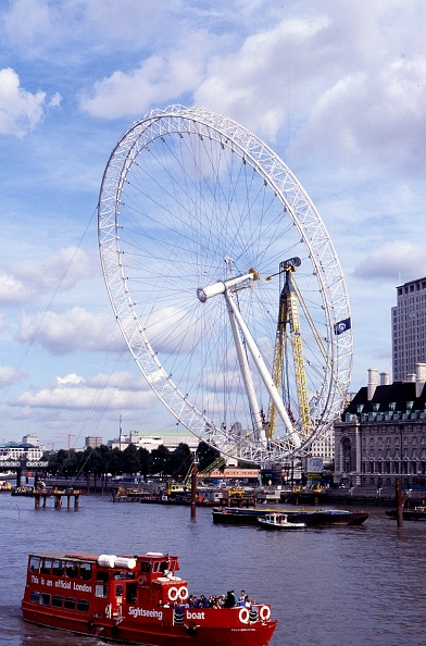 Amusement Park Ride「London Eye Under Construction 1999」:写真・画像(19)[壁紙.com]