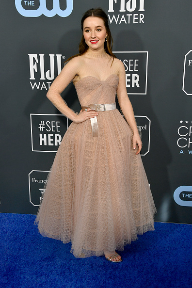Nude Colored Dress「25th Annual Critics' Choice Awards - Arrivals」:写真・画像(1)[壁紙.com]