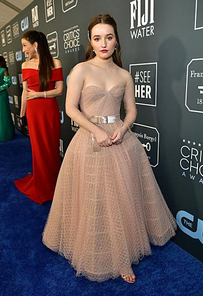 Nude Colored Dress「25th Annual Critics' Choice Awards - Red Carpet」:写真・画像(4)[壁紙.com]