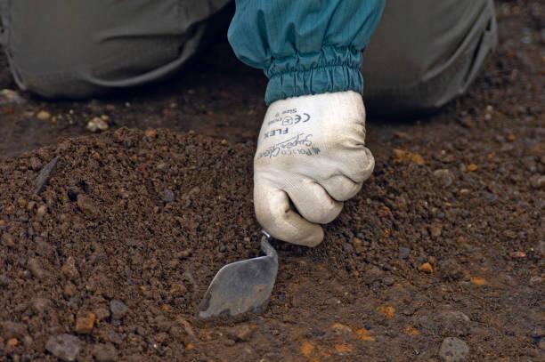 Archaeological dig prior to property development, UK:ニュース(壁紙.com)