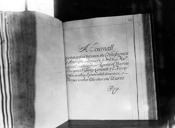Diary「Pepys' Journal」:写真・画像(6)[壁紙.com]