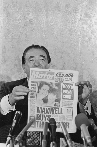 Consolidated News Pictures「Robert Maxwell」:写真・画像(8)[壁紙.com]