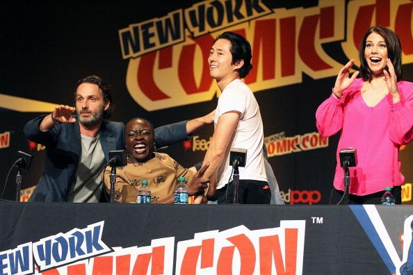 "Lauren Cohan「""The Walking Dead"" Panel At New York Comic Con」:写真・画像(13)[壁紙.com]"