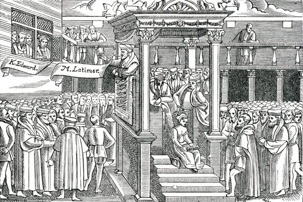 Preacher「Latimer preaching before Edward VI」:写真・画像(2)[壁紙.com]