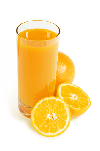 Drinking「Orange juice」:スマホ壁紙(14)