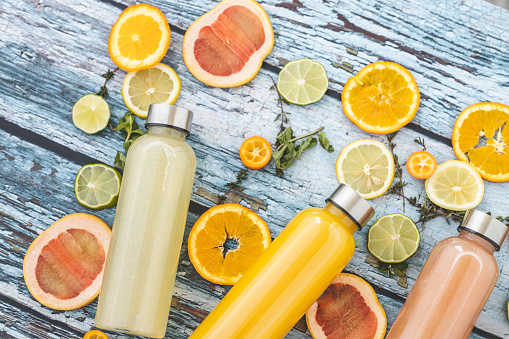 Lemon Soda「Orange juice and lemonade」:スマホ壁紙(4)