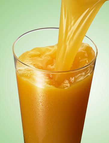 Pouring「Orange Juice Pour」:スマホ壁紙(18)