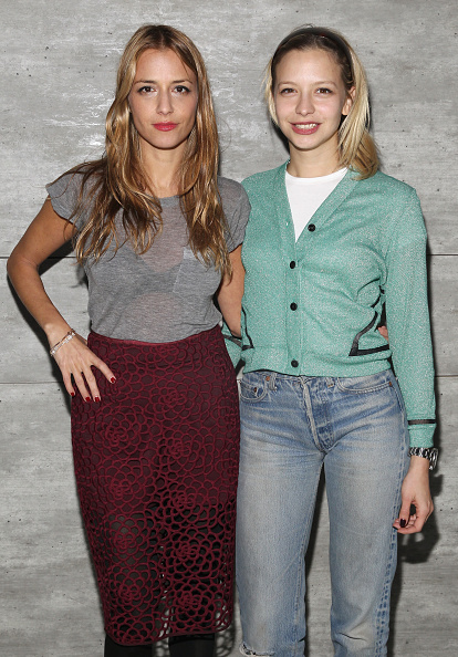 Annabelle Dexter Jones「Charlotte Ronson - Front Row - Mercedes-Benz Fashion Week Fall 2015」:写真・画像(1)[壁紙.com]