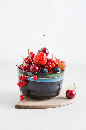 Cherry「Bowl of different fruits」:スマホ壁紙(2)