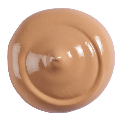 Blob「A beauty cut out image of a circle, blob or splodge of tan foundation cream」:スマホ壁紙(17)