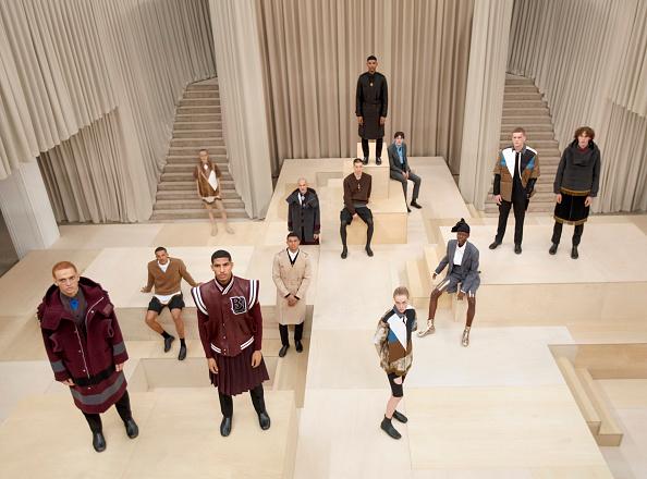 London Fashion Week「Burberry Autumn/Winter 2021 Menswear Presentation」:写真・画像(12)[壁紙.com]