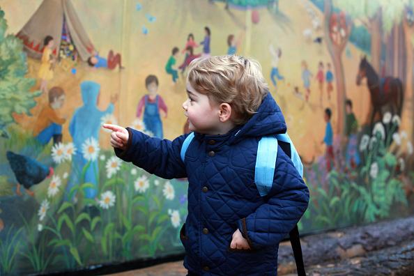 出席する「Prince George attends nursery school」:写真・画像(10)[壁紙.com]