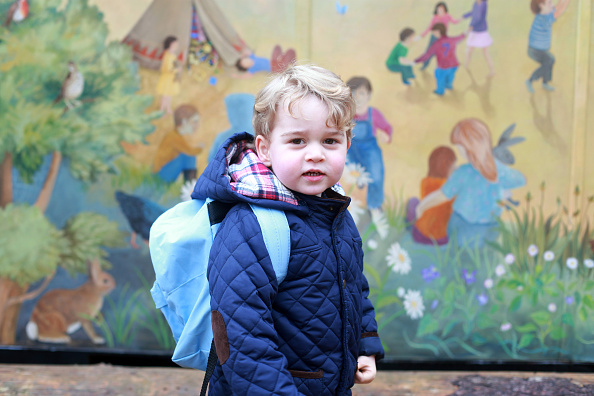 出席する「Prince George attends nursery school」:写真・画像(2)[壁紙.com]