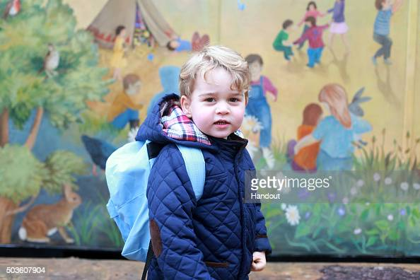 Day 1「Prince George attends nursery school」:写真・画像(14)[壁紙.com]
