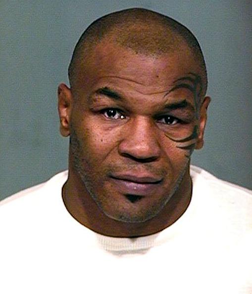 Mike Tyson「Mike Tyson Mug Shot」:写真・画像(12)[壁紙.com]