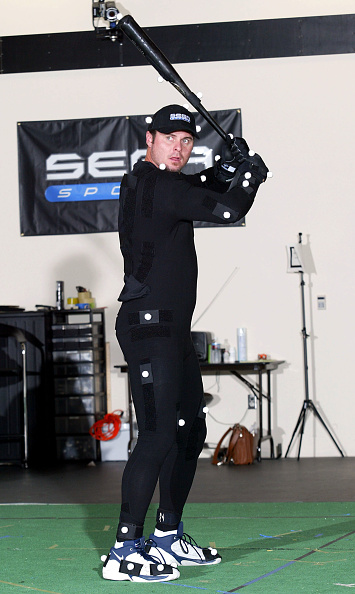 Motion「Jason Giambi Performs During Video Capture Session」:写真・画像(4)[壁紙.com]
