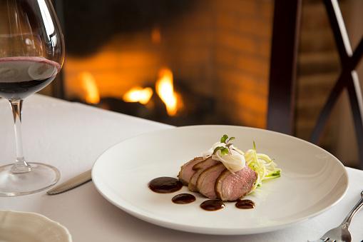 Fork「Duck served fireside」:スマホ壁紙(9)