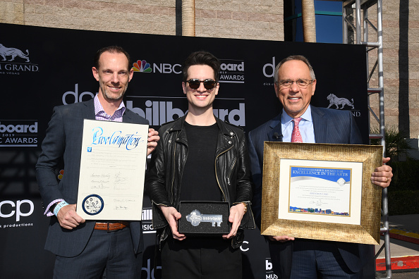 MGM Grand Garden Arena「2019 Billboard Music Awards Las Vegas Proclamation With Brendon Urie」:写真・画像(1)[壁紙.com]