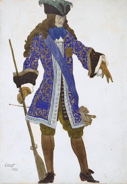 White Background「Design For The Counts Costume In Act Iii Of The Sleeping Princess, 1」:写真・画像(15)[壁紙.com]