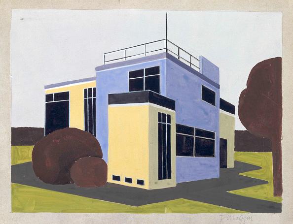 Architecture「Design For A Detached House」:写真・画像(10)[壁紙.com]