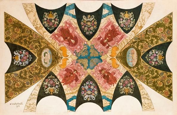 Ceiling「Design For A Ceiling Mural For The State Bank In Nizhny Novgorod」:写真・画像(1)[壁紙.com]