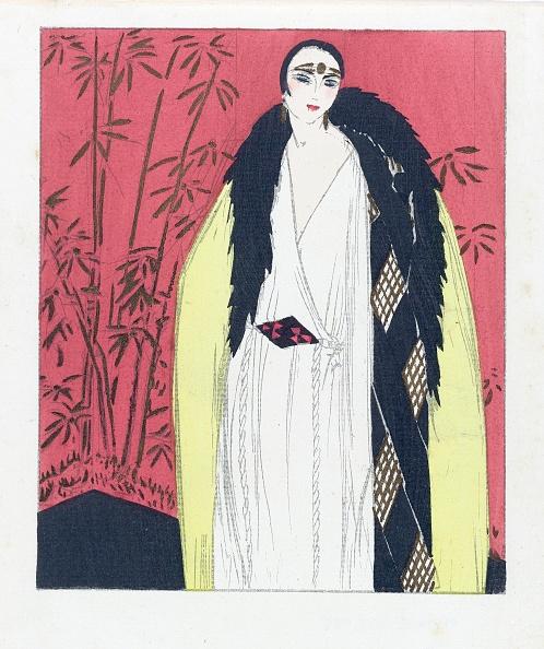 Fashion「Design For An Evening Dress With Fur Trimmed Cape」:写真・画像(15)[壁紙.com]