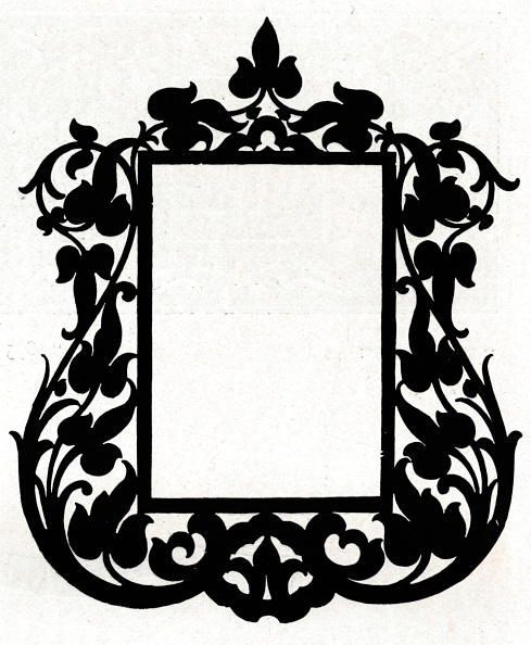 Picture Frame「A design for a picture frame titled 'Aesthetic', 1898.」:写真・画像(4)[壁紙.com]