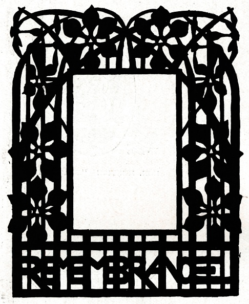 Picture Frame「A design for a picture frame titled 'Margery Daw, 1898.」:写真・画像(10)[壁紙.com]