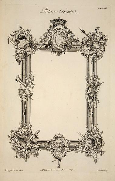 Ornate「Design For A Picture Frame」:写真・画像(1)[壁紙.com]
