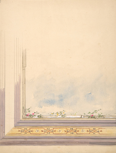 Ceiling「Design For A Ceiling Painted With Clouds And Flowering Vines」:写真・画像(7)[壁紙.com]