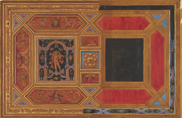 Ceiling「Design For A Ceiling Painted With Grotesque Motifs」:写真・画像(11)[壁紙.com]
