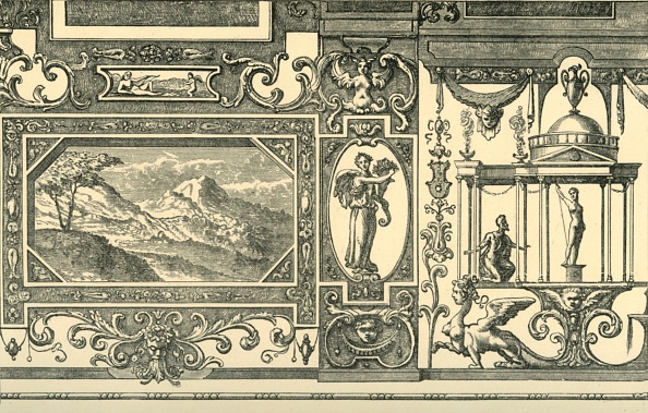 Ceiling「Design For A Wall Or Ceiling Decoration In The Grotesque Taste」:写真・画像(6)[壁紙.com]