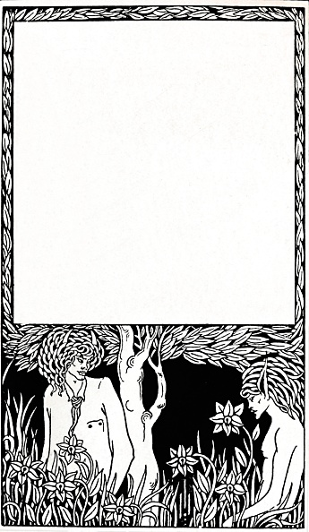 Copy Space「Design For Title-Page Of Pagan Papers 1893」:写真・画像(15)[壁紙.com]