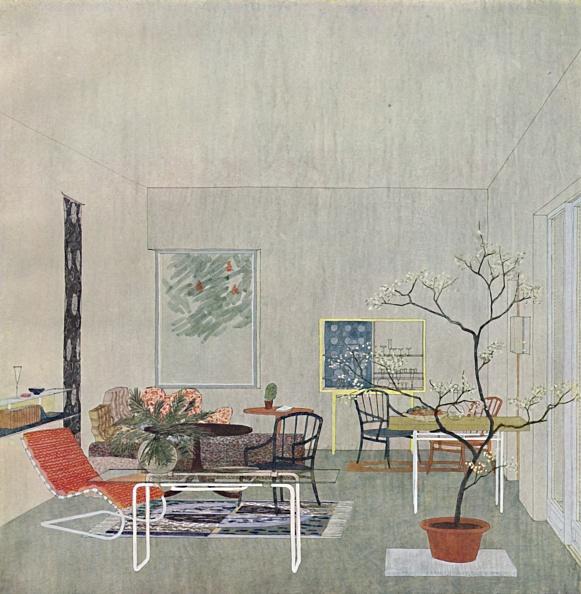 Chair「A Design For A Gartenraum By Georg Steinklammer Of Vienna」:写真・画像(1)[壁紙.com]