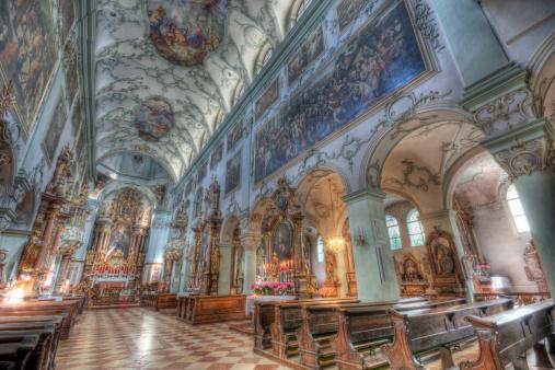 Austria「St. Peter's Abbey Church in Salzburg」:スマホ壁紙(8)