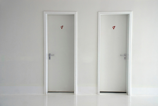 Two Objects「Restroom Doors」:スマホ壁紙(4)