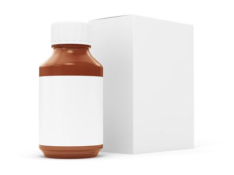 Pill Bottle「Generic Pill Bottle and Box」:スマホ壁紙(17)