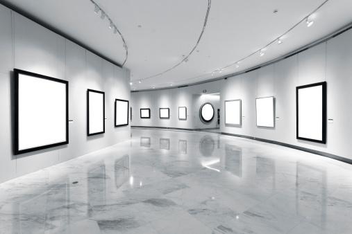 Art「Exhibition frames」:スマホ壁紙(11)